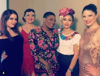 Backstage with Perle Noire